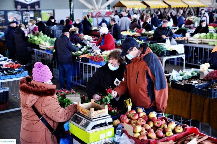 Így alakul a NYÍRVV által üzemeltetett piacok nyitvatartása május elsején