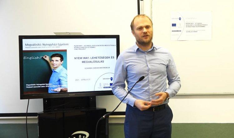 Az angol nyelvoktatás megújítása – Záróesemény a Nyíregyházi Egyetemen