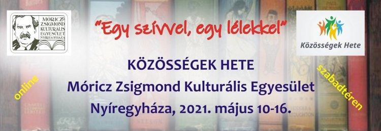 Közösségek Hete - A Móricz Zsigmond egyesület is csatlakozott a rendezvénysorozathoz