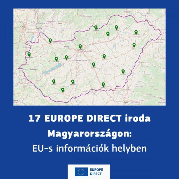 Európáról mindenkinek –  információk a Europe Direct Szabolcs-Szatmár-Bereg segítségével