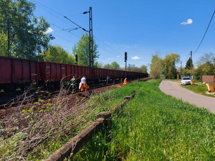 Tragédia – Halálra gázolt egy személyt Nyíregyháza és Sóstóhegy között egy tehervonat