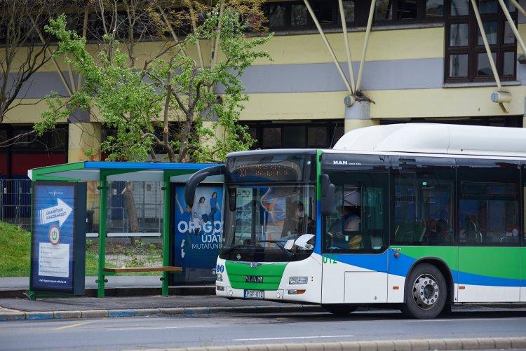 Így változik az autóbuszok közlekedési rendje május 10-től – Részletekért olvasson tovább!