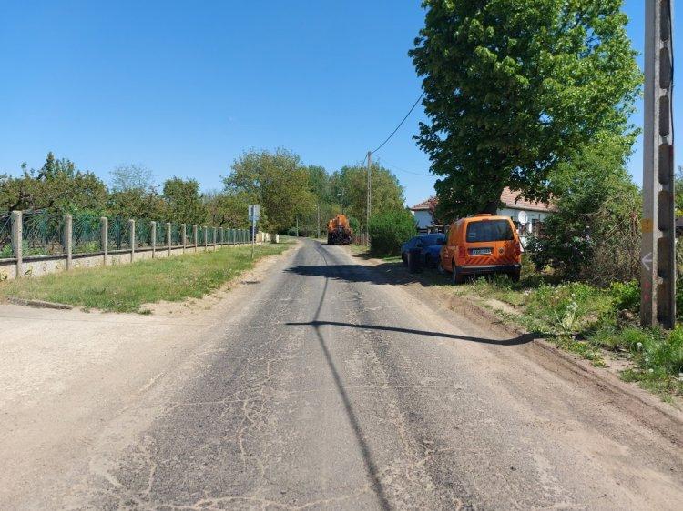 Az útfelújítás idején Polyákbokor felől kerülik el az autóbuszok a Rókabokori utat