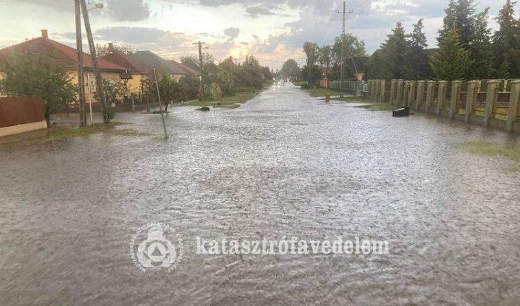 Tegnap több műszaki mentést végeztek a Szabolcs-Szatmár-Bereg megyei tűzoltók