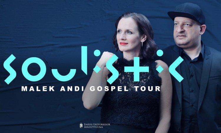 Soulistic – Malek Andi Gospel Tour, a Váci Mihály Kulturális Központ színpadán