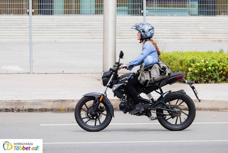 A jó idő beköszöntével egyre több motoros közlekedik az utakon