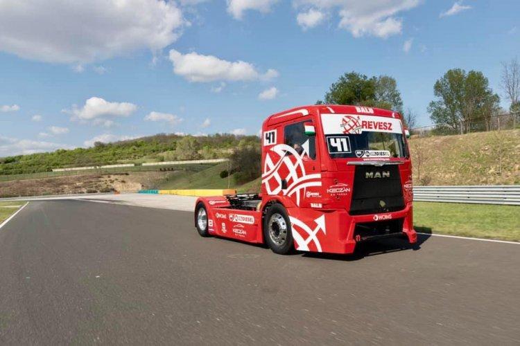 Rajt a Hungaroringen - A hétvégén indul a kamion EB sorozat, nyíregyházi csapattal