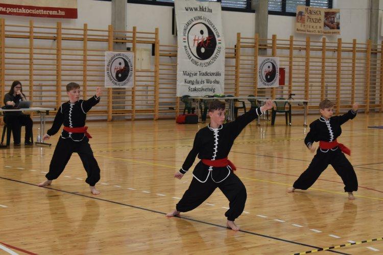 Kung-Fu bajnokság - Jól szerepeltek a nyíregyházi versenyzők