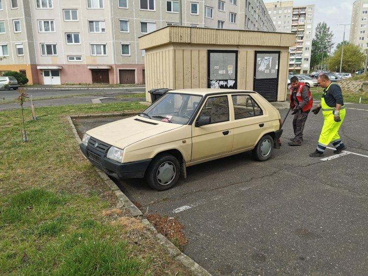 Rendszám nélküli gépkocsik: folyamatosak a lakossági bejelentések