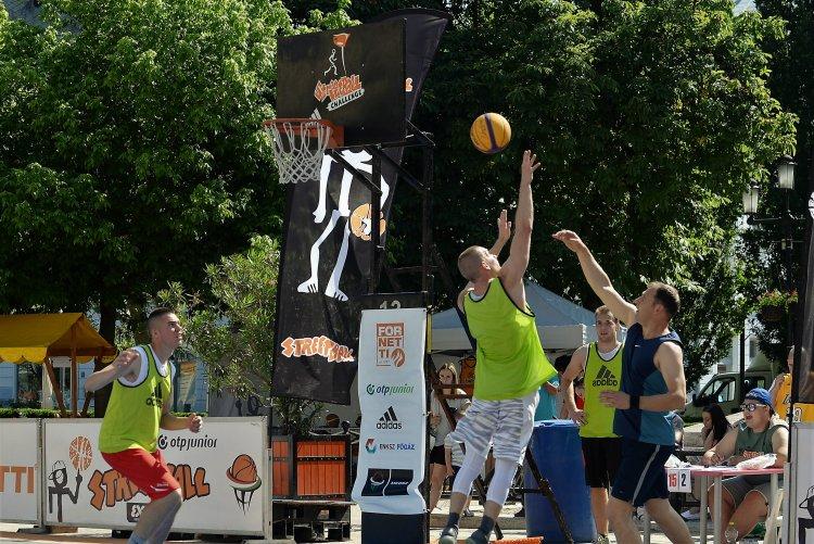 Vasárnap Streetball - Ismét pattog majd a labda a Kossuth téren