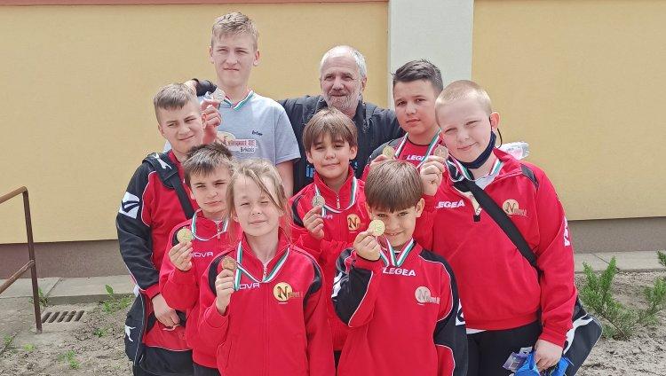 Berettyóújfaluban a birkózók - Jól szerepeltek a Nyírsport SE versenyzői