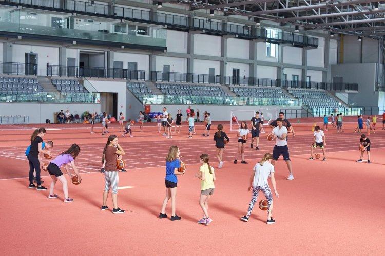 Sport és Élménytábor - Népszerű a foci, a kosárlabda és a kézilabda