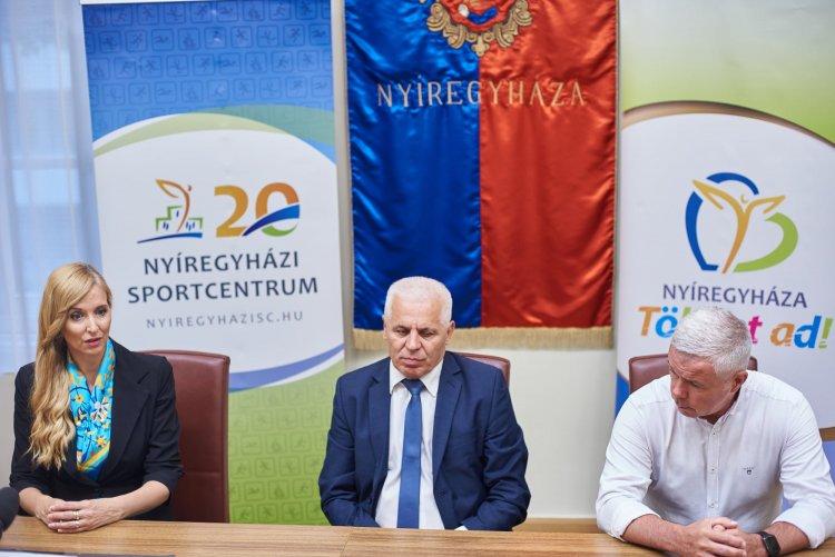 Támogatás – Évi 300 milliós sporttámogatás érkezik a Nyíregyházi Sportcentrumhoz 2026-ig