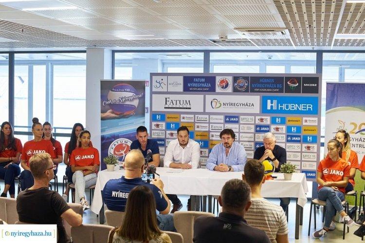 Megkezdte a felkészülést a bajnok és magyar kupa győztes Fatum-Nyíregyháza