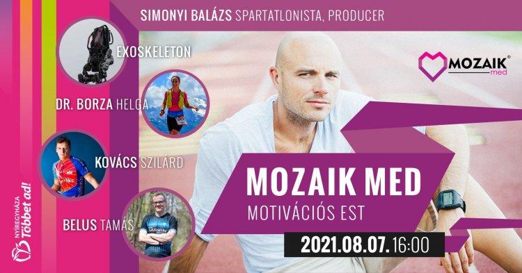 Mozaik Med Motivációs Est a hosszútávfutás helyi és hazai kiválóságaival