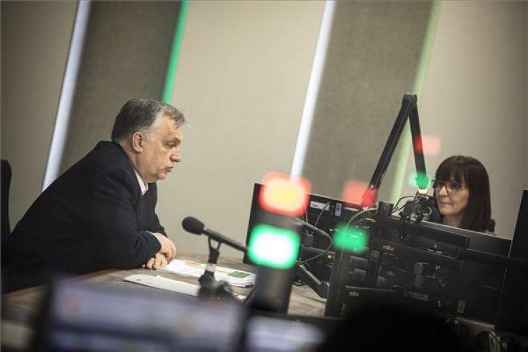 Orbán Viktor: A gyermekeink jövője a tét, ezért nem engedhetünk