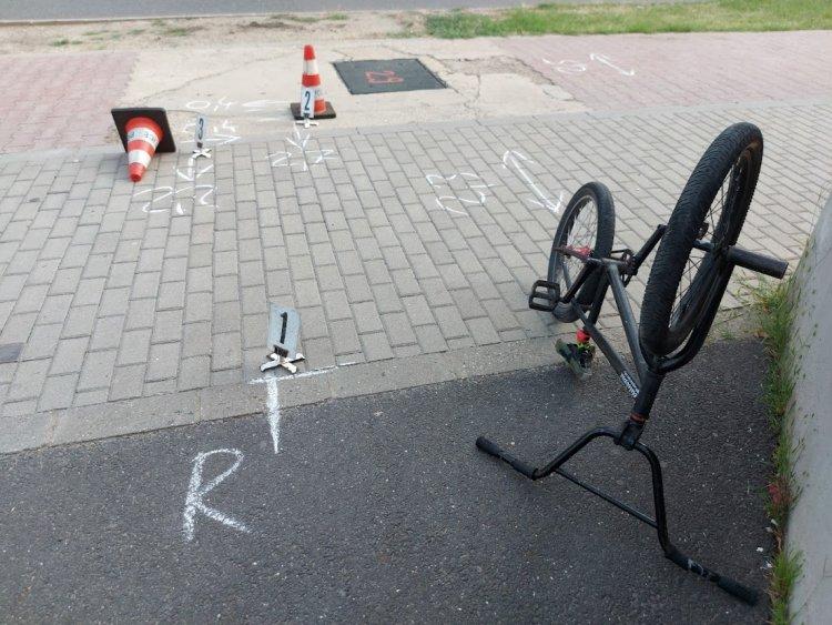 Két kerékpáros ütközött össze a Bethlen Gábor és a Síp utcai kereszteződésben