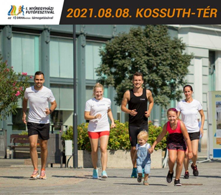 Érkezik a város első zöldversenye – Augusztus 8-án I. Nyíregyházi Futófesztivál!
