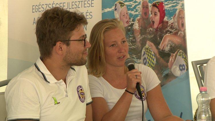 Európa-bajnok vendégek - Újabb példaképek érkeztek a vízilabdásokhoz