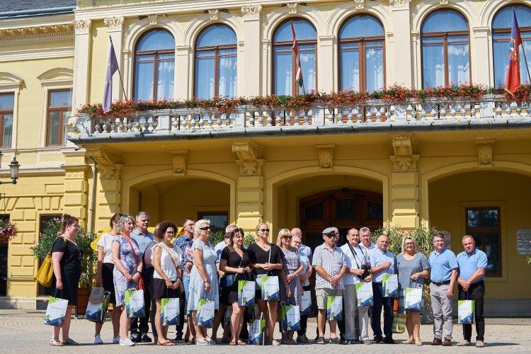 Találkozó – 24 fő érkezett Lengyelországból a városházára