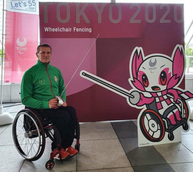 Hatalmas élmény volt a paralimpia - Tarjányi István hazatért Japánból