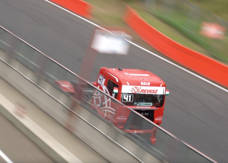 Győzelem Zolderben - Kiss Norbert vezeti a kamion EB-t