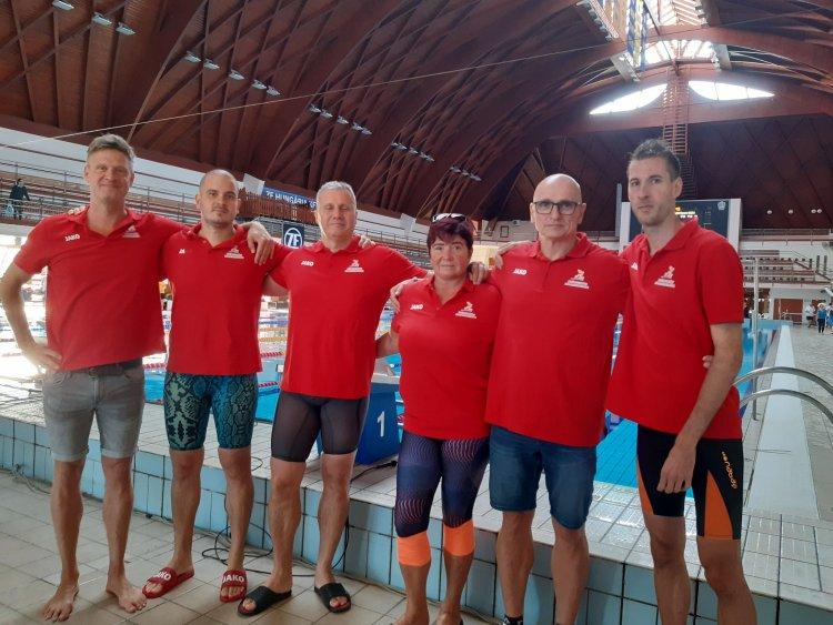 Érmek Egerből - Jól szerepeltek a senior úszók a versenyen