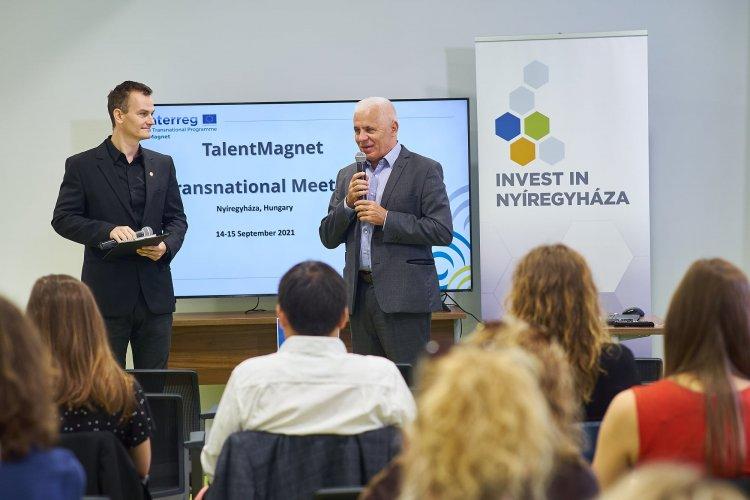 TalentMagnet találkozó – Tíz országból érkeztek vendégek az ipari park kft.-hez