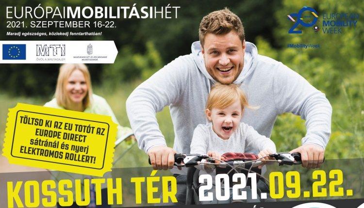 Európai Mobilitási Hét - Autómentes nap programokkal,  kerékpáros felnulással