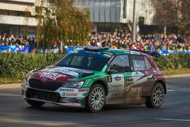 Októberben Rally Európa-bajnokság Nyíregyházán!