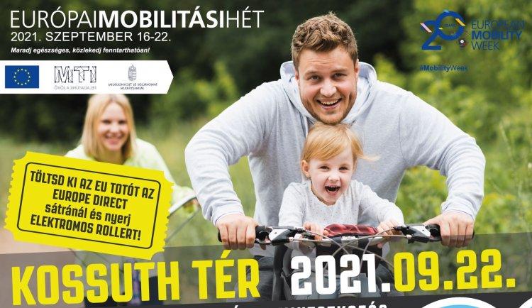 Autómentes nap lesz szerdán – Az európai mobilitási hét adja a keretet