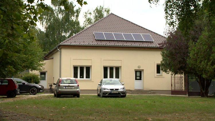 Korszerűsítés Mandabokorban – Energetikai korszerűsítés a művelődési házban