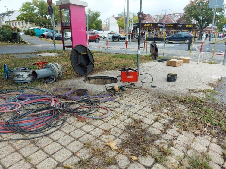 A Nyírtávhő korszerűsítési munkálatokat végzett az elmúlt napokban Nyíregyházán