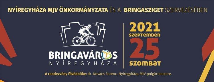 Szombaton ismét Bringaváros – Fedezze fel Ön is Nyíregyháza 80 km-es kerékpárút hálózatát!