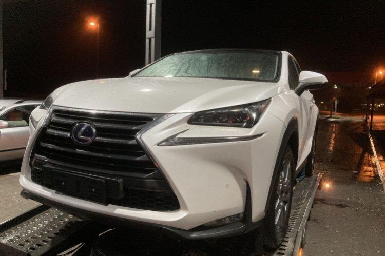 Körözött gépkocsi a csengersimai határátkelőhelyen