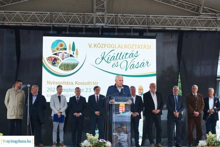 Szabolcs-Szatmár-Bereg megye száz települése vett részt a Közfoglalkoztatási Kiállításon
