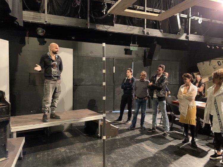 Megtartották a Közellenség című előadás olvasópróbáját a Móricz Zsigmond Színházban