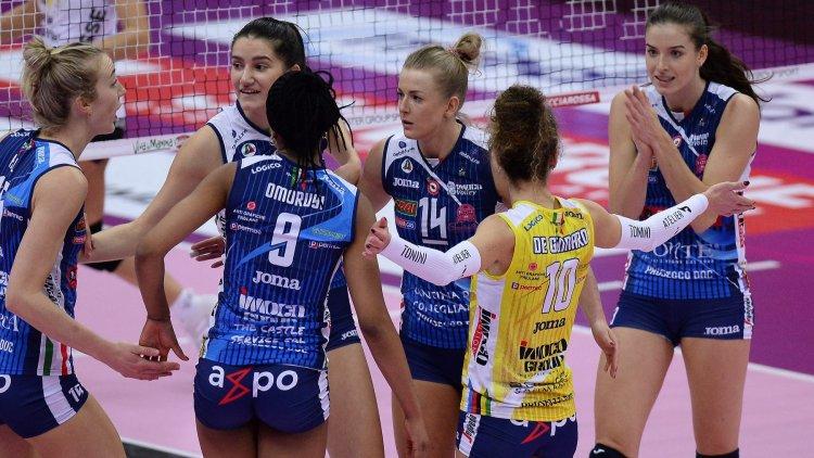 Olasz és lengyel ellenfelet kapott a Nyíregyháza a női röplabda Bajnokok Ligájában