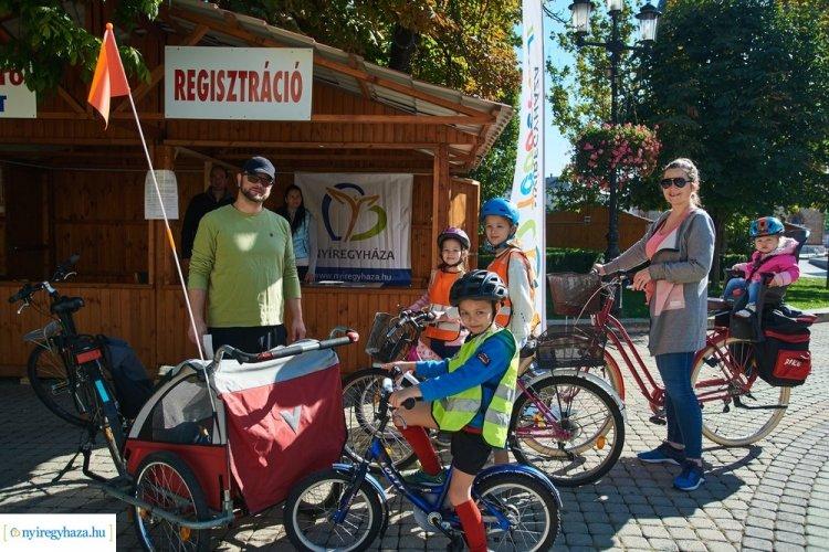 Negyedik Bringaváros rendezvény Nyíregyházán! - Több százan ültek kerékpárra