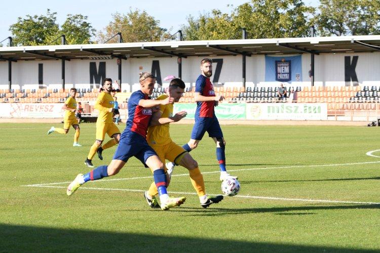 Döntetlen a Csákvár ellen - Két gólt hozott az NB-II-es mérkőzés
