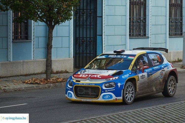 Október végén ismét lesz Rally EB futam Nyíregyházán - Komoly mezőny érkezik
