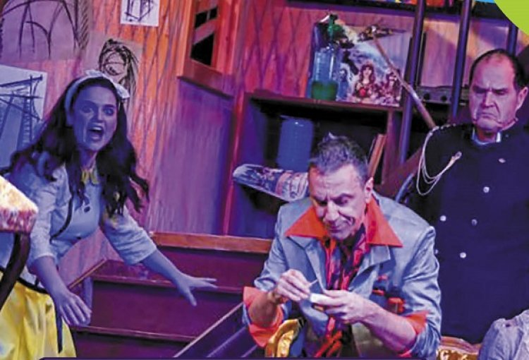 Rövidzárlat (Black Comedy) - a Veres1 Színház előadása a Váci Mihály Kulturális Központban