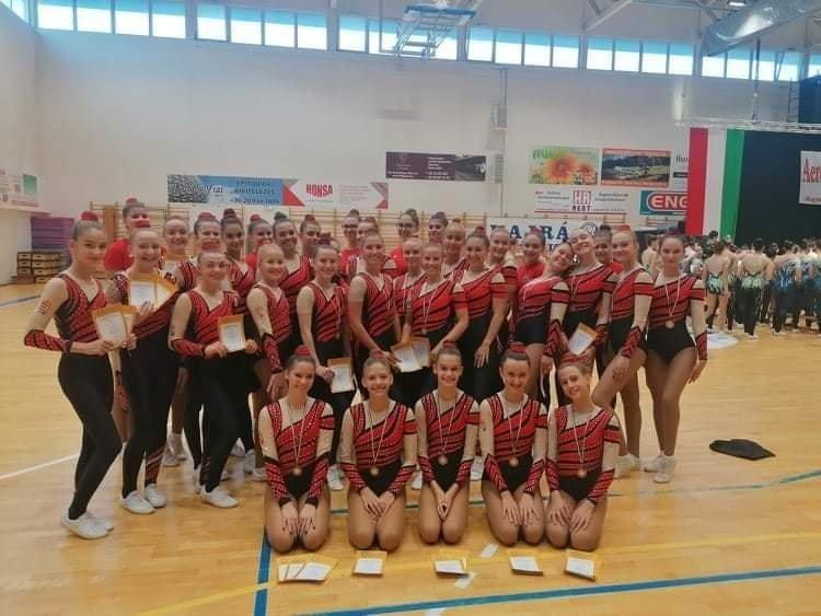 Aerobik Magyar Kupa - Kozármislenyen is érmeket szereztek a nyíregyházi lányok