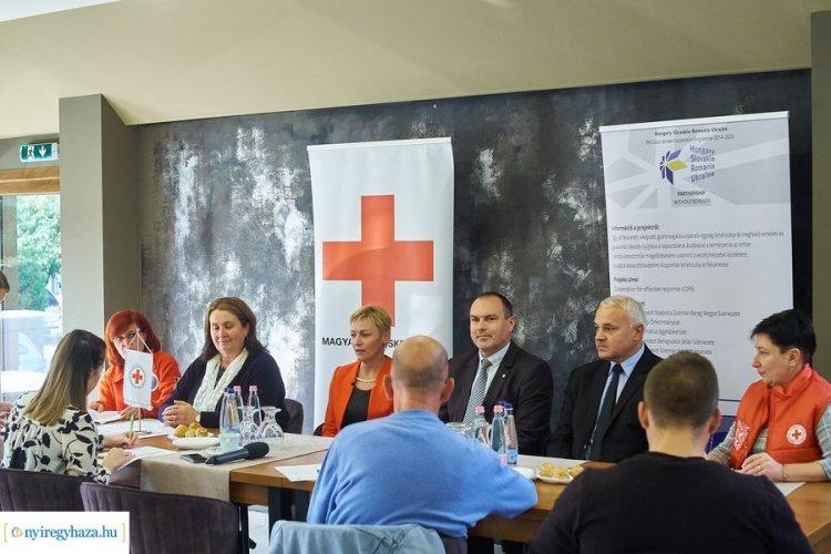 Határokon átnyúló együttműködés – Több szervezetre is számíthat a megyei Vöröskereszt